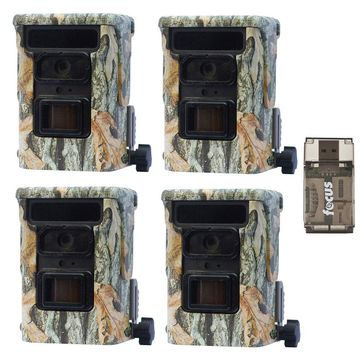 Browning Defender 940 Trail Camera (4-Pack) with Focus Card Reader