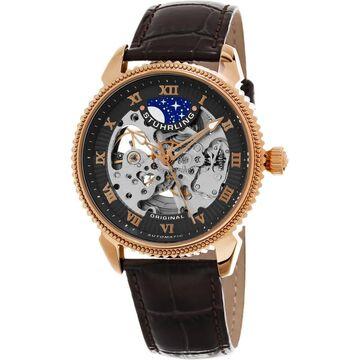 Stuhrling Original Men's Automatic Special Reserve Leather Strap Watch (Stuhrling Original Men's Watch)