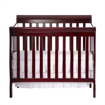 Dream On Me 4 in 1 Aden Convertible Mini Crib Cherry