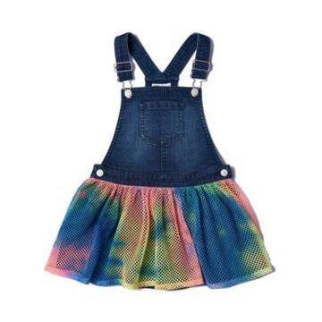 Little Girls Tie-Dye Mesh Skirtall