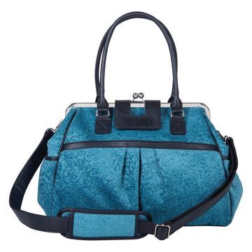 Waverly Baby by Trend Lab Stetson Lagoon Framed Diaper Bag