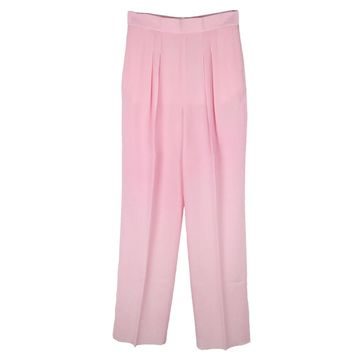 Christopher Kane Pink Wool Trousers