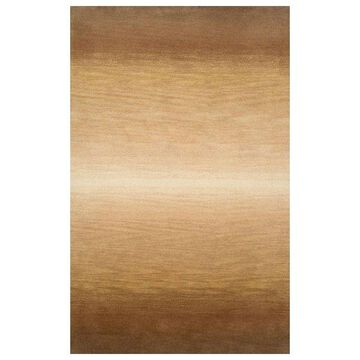 Trans Ocean Ombre Stripes Natural Area Rug by Liora Manne 5'0''x8'0''