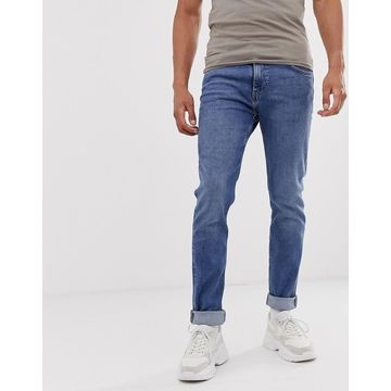 Weekday Friday slim jeans in blue