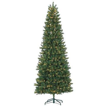 Sterling 9' Natural Cut Slim Montgomery Pine Artificial Christmas Tree, Multicolor