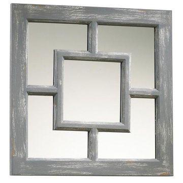 Wall Mirror Cyan Design Ashbury Distressed