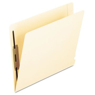 Pendaflex Laminated Spine End Tab Folder with 2 Fasteners 14 pt Manila Letter 50