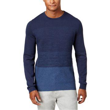 Alfani Mens Colorblock Knit Sweater