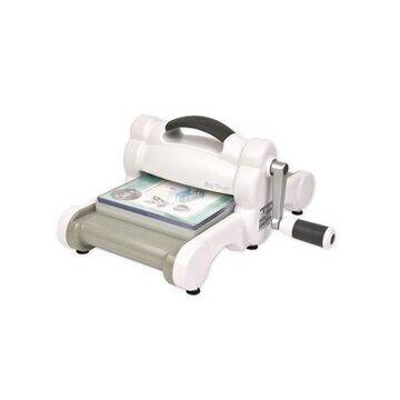 Sizzix Big Shot Machine Only (White & Gray) with Standard Platform