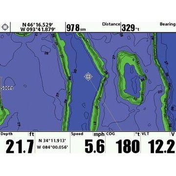 Humminbird 600023-7 Lakemaster Version 3 PLUS Chart Card - Southeast Edition