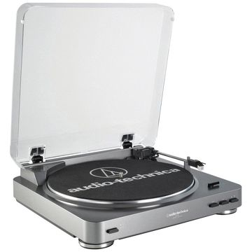 Audio-Technica Fully Automatic Belt-Drive Stereo Turntable (USB & Analog)
