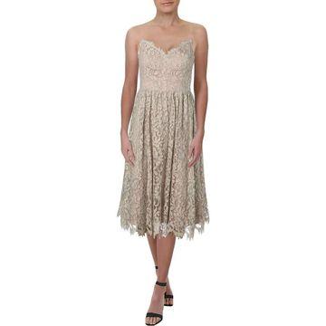 Eliza J Womens Cocktail Dress Lace Sleeveless