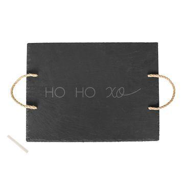 Cathys Concepts HO HO XO Slate Serving Tray