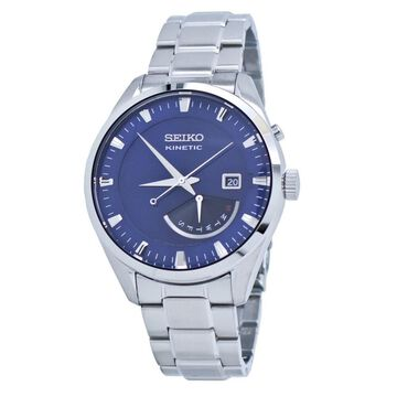 Seiko Men's SRN047 Kinetic Stainless Steel Watch