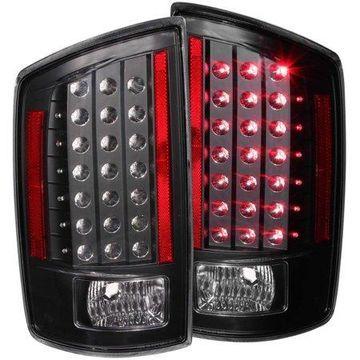 ANZO USA 311123 07-09 RAM LED TAIL LIGHTS LED/BLACK