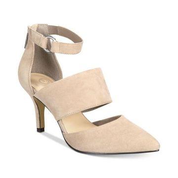 Bella Vita Womens Diana Leather Closed Toe Ankle Strap Classic