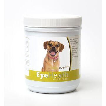Healthy Breeds 840235145790 Puggle Eye Health Soft Chews - 75 Count