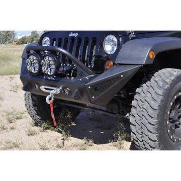 Addictive Desert Designs 07-18 Jeep Wrangler JK Stealth Fighter Top Hoop for 8in KC HiLites