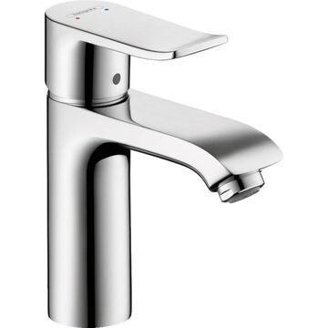 Hansgrohe Metris Chrome 1-Handle Single Hole WaterSense Bathroom Sink Faucet   31204001