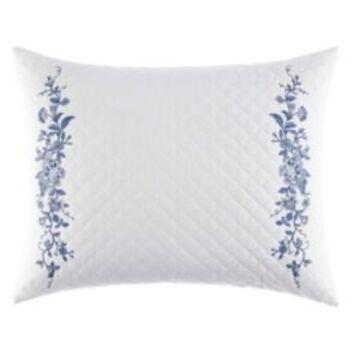 Laura Ashley Charlotte Blue Breakfast Pillow Bedding
