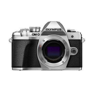 ''Olympus OM-D E-M10 Mark III Mirrorless Camera Body, Silver''