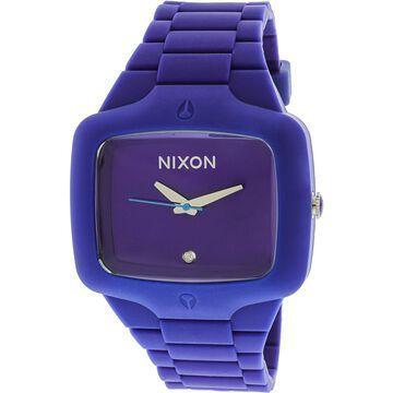 Nixon Men's A139230 Purple Silicone Quartz Fashion Watch