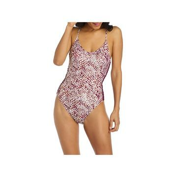 Ambrielle Animal One Piece Swimsuit