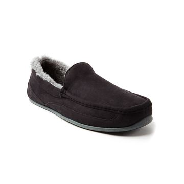 Deer Stags Spun Moccasin Slippers
