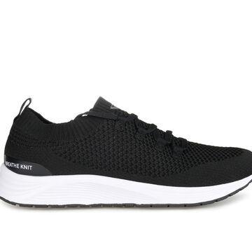 Vance Co. Rowe Men's Shoe (Black - Size 8.5 - FABRIC)