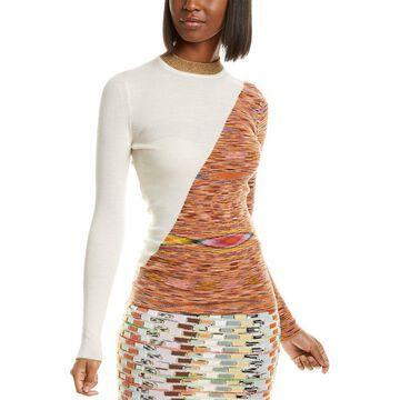 Missoni Colorblocked Wool-Blend Sweater