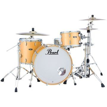 Pearl Vintage Hybrid Wood Fiberglass Series 3-Piece Shell Pack with 24 in. Bass Drum Antique Gold