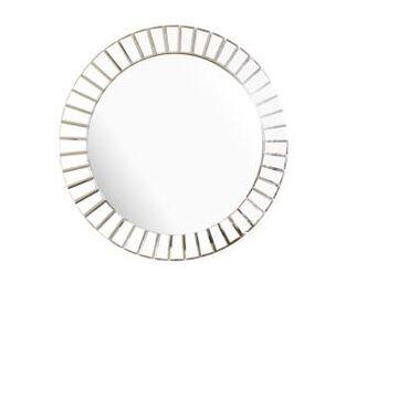 Abbyson Living Kara Round Wall Mirror
