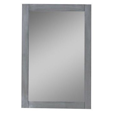 Legion Furniture Helen Mirror, Silver Gray, 20