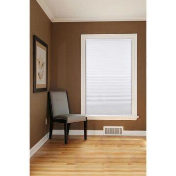 "Arlo Blinds White Room Darkening Cordless Cellular Shades (64""W x 60""H)"