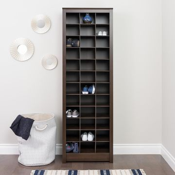 Prepac Tall Shoe Storage Cabinet