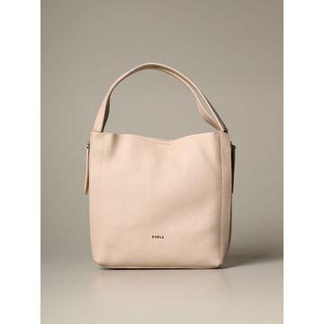 Furla Shoulder Bag Grace Hobo Furla Bag In Grained Leather