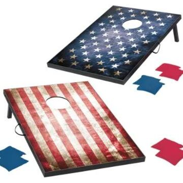 Wild Sports Stars and Stripes Bean Bag Toss Game