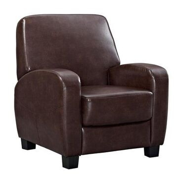 Mainstays Home Theater Recliner, Multiple Colors, (Brown)