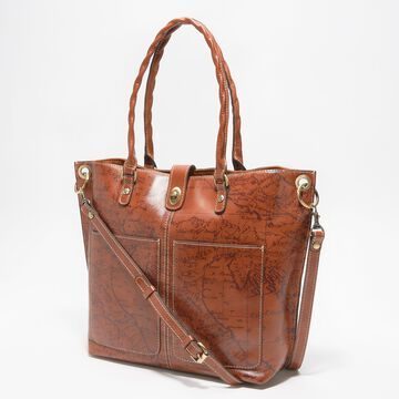 Patricia Nash Leather Marseille Grommet Tote