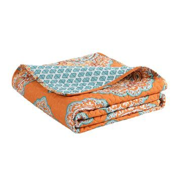 Lush Decor Harley Paisley Throw