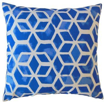 The Pillow Collection Zareh Geometric Decorative Throw Pillow