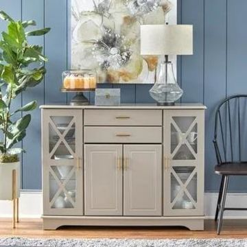 Simple Living Kendall Buffet (Taupe)