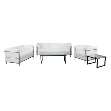 Flash Furniture White Set