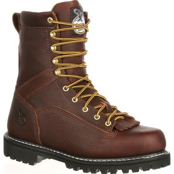 Georgia Boot Lace-To-Toe Vibram Work Boot, style #G8044