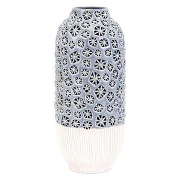 IMAX Home 25705 Lynna 15 Inch Tall Handcrafted Ceramic Vase