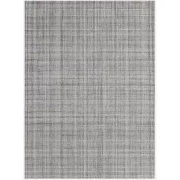 """Amer Rugs Laugeline Suka Plaid 5' X 7'6"""" Area Rug In Champagne"""