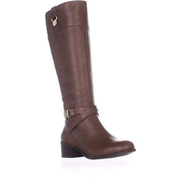 Giani Bernini Womens Revaa Almond Toe Knee High Riding Boots