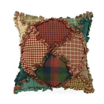 Donna Sharp Campfire Throw Pillow, Multicolor, Fits All