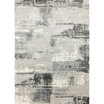 Alexander Home Glacier Cliff Abstract Modern & Contemporary Rug