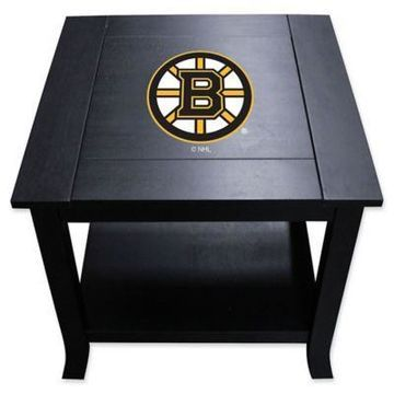 NHL Boston Bruins Side Table